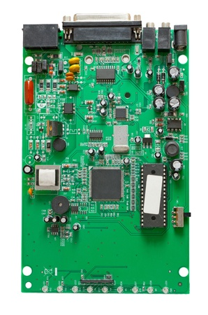 modem: Circuit of external dial-up modem isolated