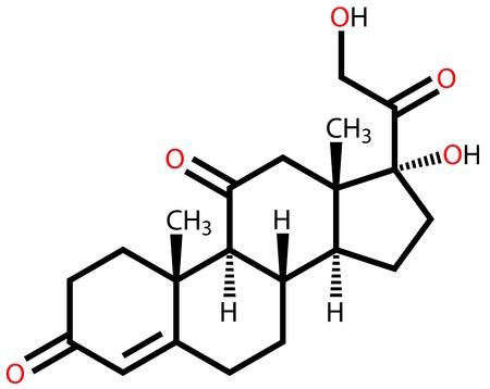 hormone: Hormone cortisone structural formula
