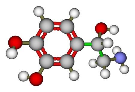 norepinephrine: Norepinephrine molecule