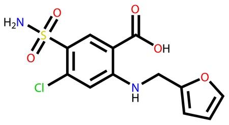 adverse: Furosemide structural formula Illustration