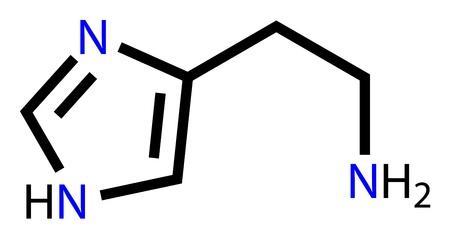 histamine: Histamine structural formula