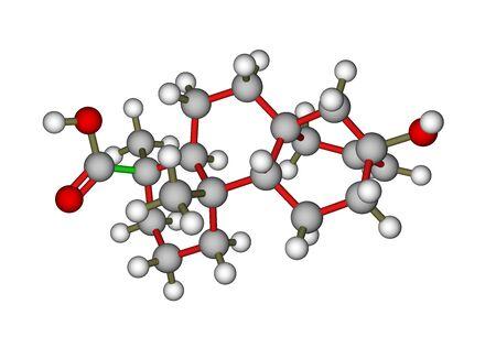 Steviol, the compoun found in the stevia plant photo