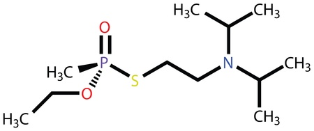white phosphorus: Nerve agent VX  Chemical weapon Illustration