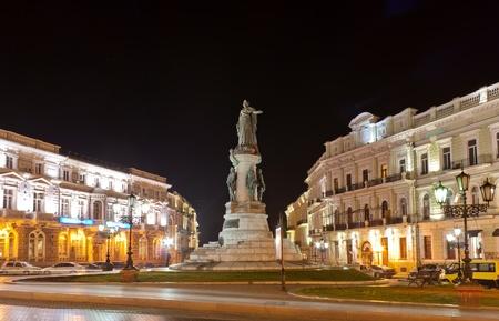 odessa: Monument to empress Catherine  Odessa, Ukraine Stock Photo