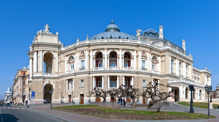 Odessa Opera and Ballet Theater. Ukraine