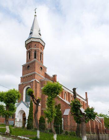 Ignatius of Loyola catholic church in Kolomyia, Western Ukraine. Built 1897 Stock Photo - 13725332