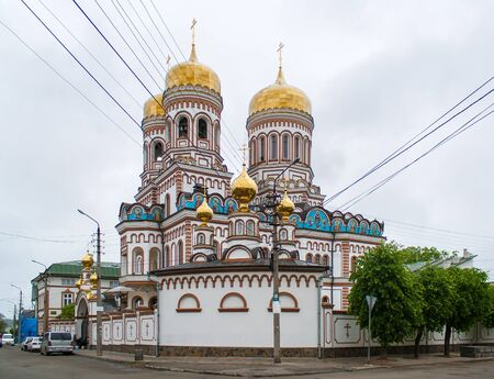 chernivtsi: Orthodox monastery in Chernivtsi, Ukraine Stock Photo