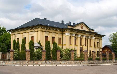 Soviet palace in Kolomyia, Ukraine. Now Ukrainian Greek Catholic Church diocese photo