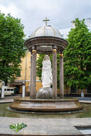 Rotunda of the Blessed Virgin Mary  Ivano-Frankivsk, Ukraine photo