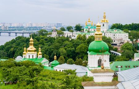 View of Kiev Pechersk Lavra, the orthodox monastery included in UNESCO world heritage list  Ukraine photo
