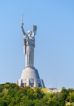 Mother of the Fatherland, Museum of the Great Patriotic War, Kiev, Ukraine photo