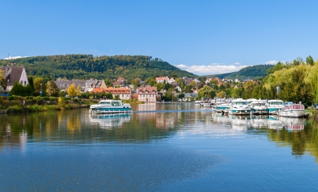 River port in Saverne, Alsase, France photo