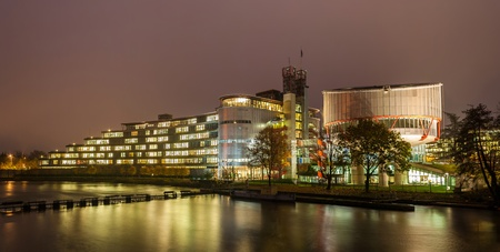 European Court of Human Rights in Strasbourg, Alsace, France photo