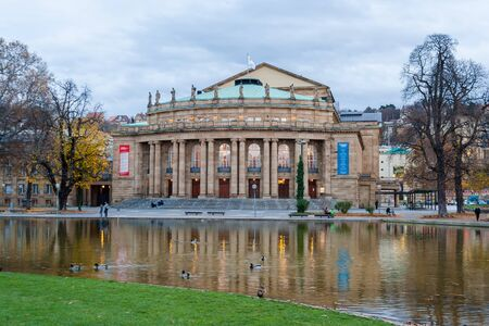 The Opera House of Stuttgart State Theatre  Germany Stock Photo - 16558174