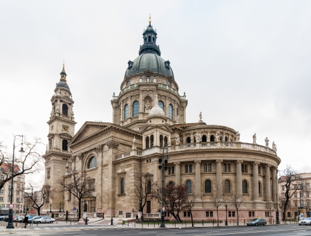 St. Stephen basilica in Budapest, Hungary