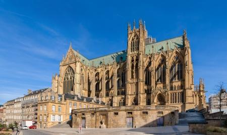 Cathedral Saint-Etienne de Metz - Lorraine, France Stock Photo