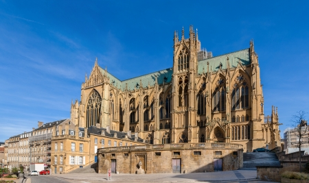 Cathedral Saint-Etienne de Metz - Lorraine, France Stock Photo