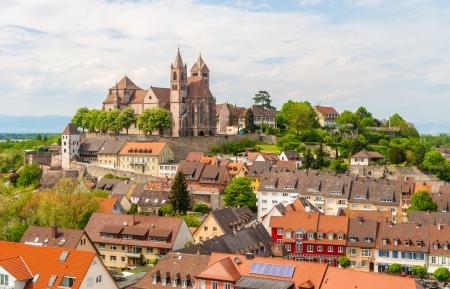 Ansicht der Stadt Breisach - Baden-Württemberg, Deutschland