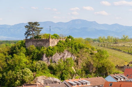 View of Castle Breisach - Baden-Wurttemberg, Germany photo