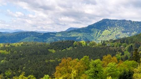 Ansicht der Vogesen im Elsass - Frankreich