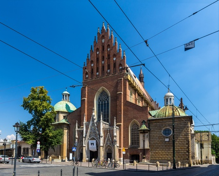 Dominican Basilica of the Holy Trinity in Krakow - Poland Stock Photo - 21715693