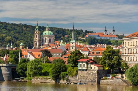 nicholas: View St  Nicholas Church and Strahov Monastery in Prague