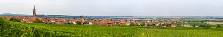 View of Dambach-la-Ville in Alsace - France photo