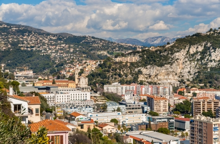 Ligurian Alps in Nice, Cote dAzur photo
