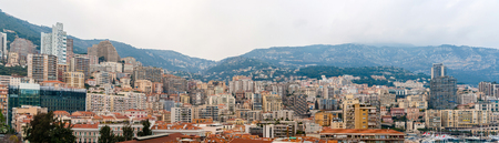 Panorama of Monaco - French Riviera photo
