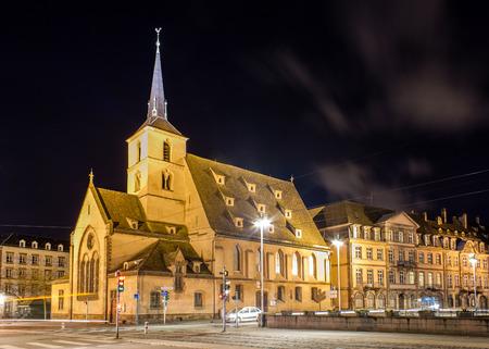 Saint Nicholas church in Strasbourg - Alsace, France photo