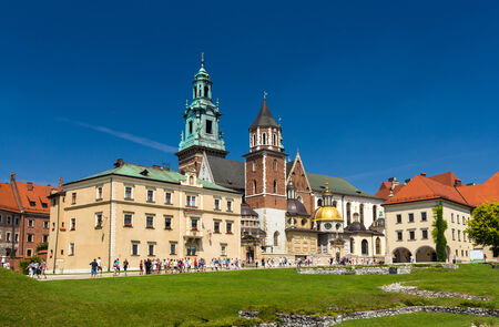 wawel: Wawel Cathedral in Krakow, Poland Editorial