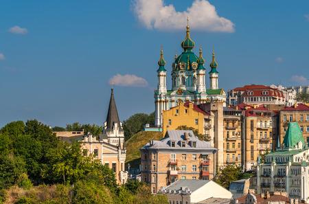 andrew: View of St Andrew church in Kiev