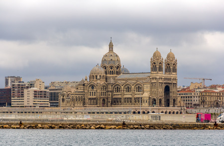 Cathedral Sainte-Marie-Majeure of Marseille - France
