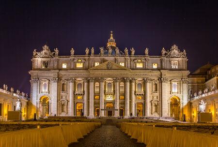 St. Peters Basilica in Vatican City