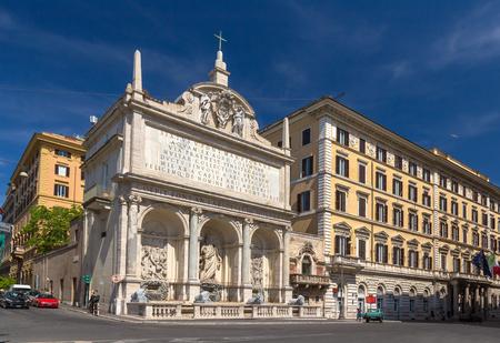 felice: Fontana dellAcqua Felice in Rome, Italy Stock Photo