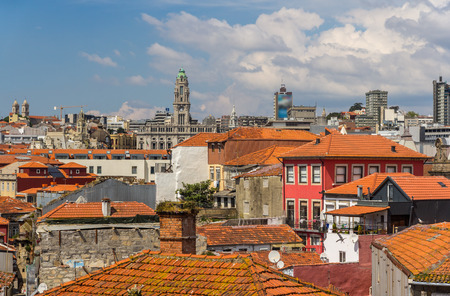 View of Porto old town, Portugal photo