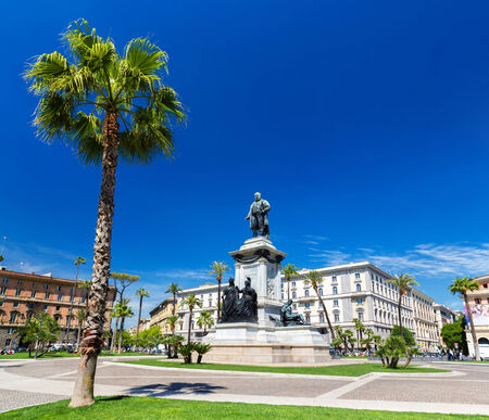 cavour: Piazza Cavour in Rome, Italy