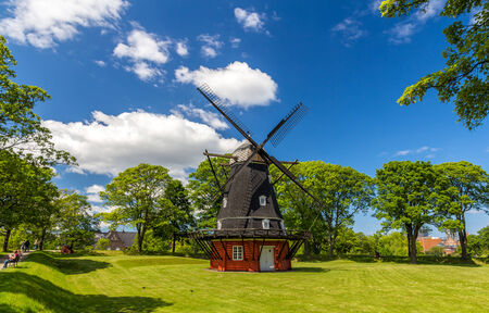 Windmill in Kastellet fortress, Copenhagen photo