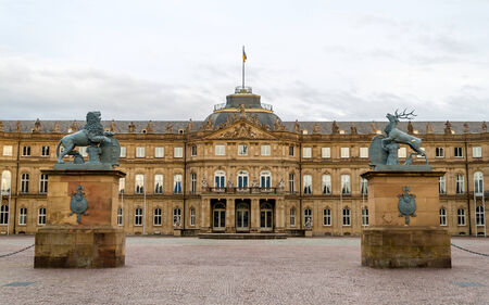 Neues Schloss  New Castle  in Stuttgart, Germany