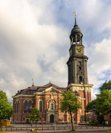 hamburg: St  Michaelis Church in Hamburg, Germany