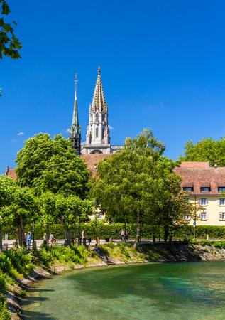 friedrichshafen: View of Konstanz Cathedral in Germany
