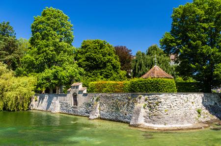 tuinhuis: Zomerhuis in een tuin in Konstanz, Duitsland