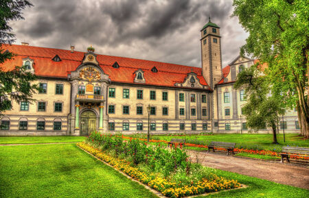 residenz: Furstbischofliche Residenz in Augsburg, Germany - Bavaria