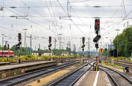 Augsburg railway station - Germany, Bavaria photo