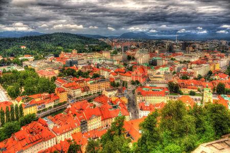 View of Ljubljana photo