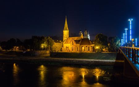 kaunas: Vytautas the Great Church in Kaunas, Lithuania Stock Photo