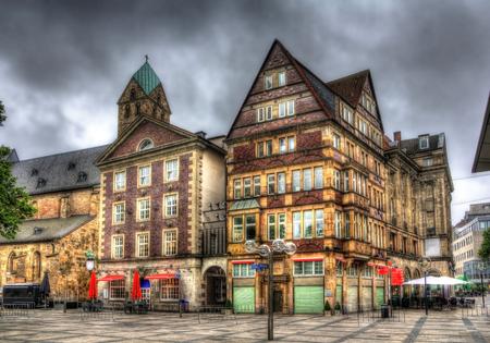 alter: Buildings in Alter Markt square in Dortmund, Germany