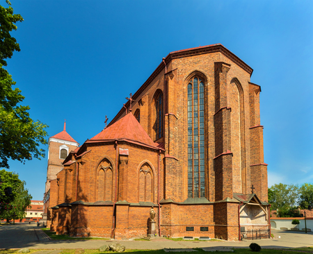 kaunas: Basillica of St. Peter and St. Paul in Kaunas, Lithuania