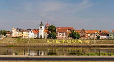 kaunas: Embankment in Kaunas - Lithuania