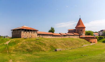 kaunas: Ruins of the Castle in Kaunas, Lithuania Editorial